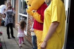 Fun Day 2011 - Kel and Pooh