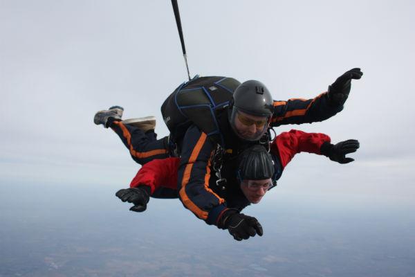 Paul Sim - Skydiver