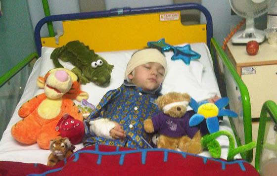 Corbin in hospital